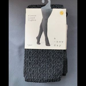 NEW Women's Fleece Lined Tights S/M by a .new day